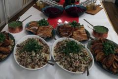 Buffet-julefrokost-varme-retter
